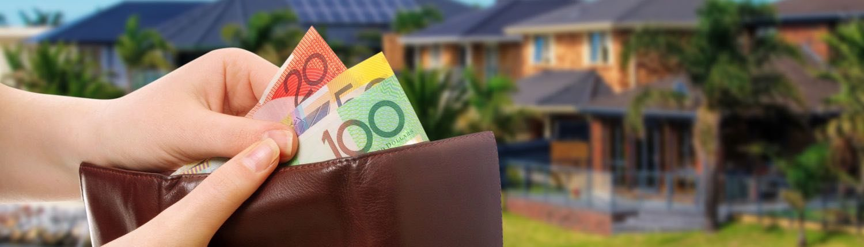 A pool owner saving money on their pool bills
