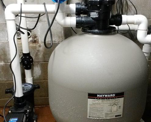 Complete energy efficient pool pump upgrade in Cairns