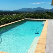 Crystal clear water of a Cairns energy efficient pool