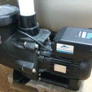 Installed Hayward energy efficient pool pump