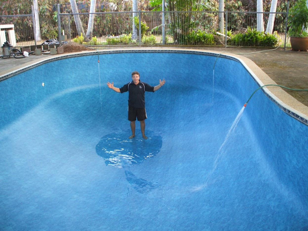 Whiterock Inground Vinyl Liner Replacement Marlin Swim Pool Service